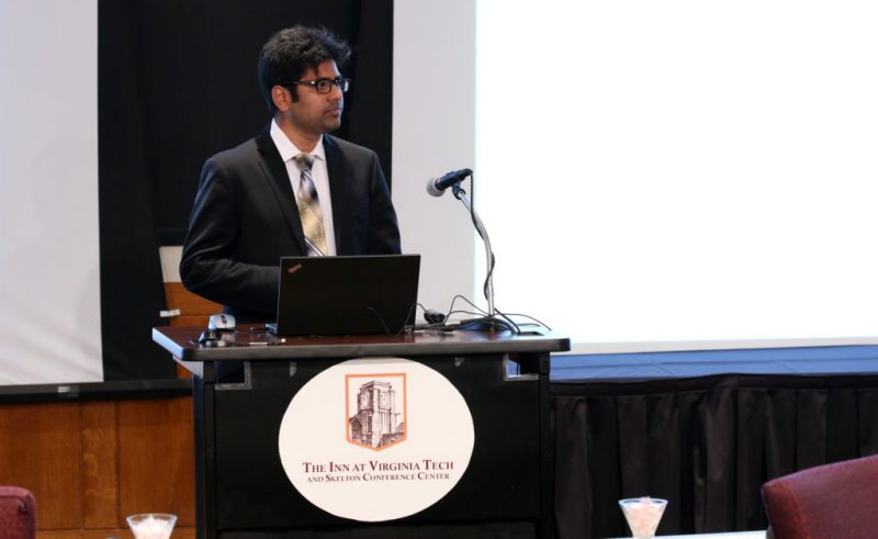 Mubashir Ansari at 2017 ChEGSA Symposium